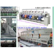 bordado tajima 6 cabeça para venda 9 agulhas 8 cabeça Wonyo máquina de bordar WY908C made in China