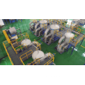 Screen Pulping Line Machine Pressure Screen Machine Drum Drilled Hole and Slot Basket