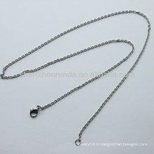 2013 cravates à la mode et à la mode collier de bijoux collier de jupe fermoir en homard en acier inoxydable