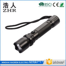 wall directly charged multi function T6 flashlight with safe hammer,car charger