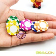 High Quality Mini Custom Clay Composite Poker Chips, Pure Clay Mini Poker Chip