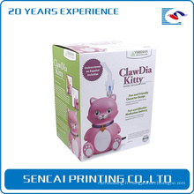 Boîte vide électronique d'emballage de caisse d'ours de mode vide Boîte électronique de cadeau d'emballage de produits