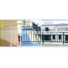 Galvanized cast fence/wrought iron garden fence/prefab iron fence panels