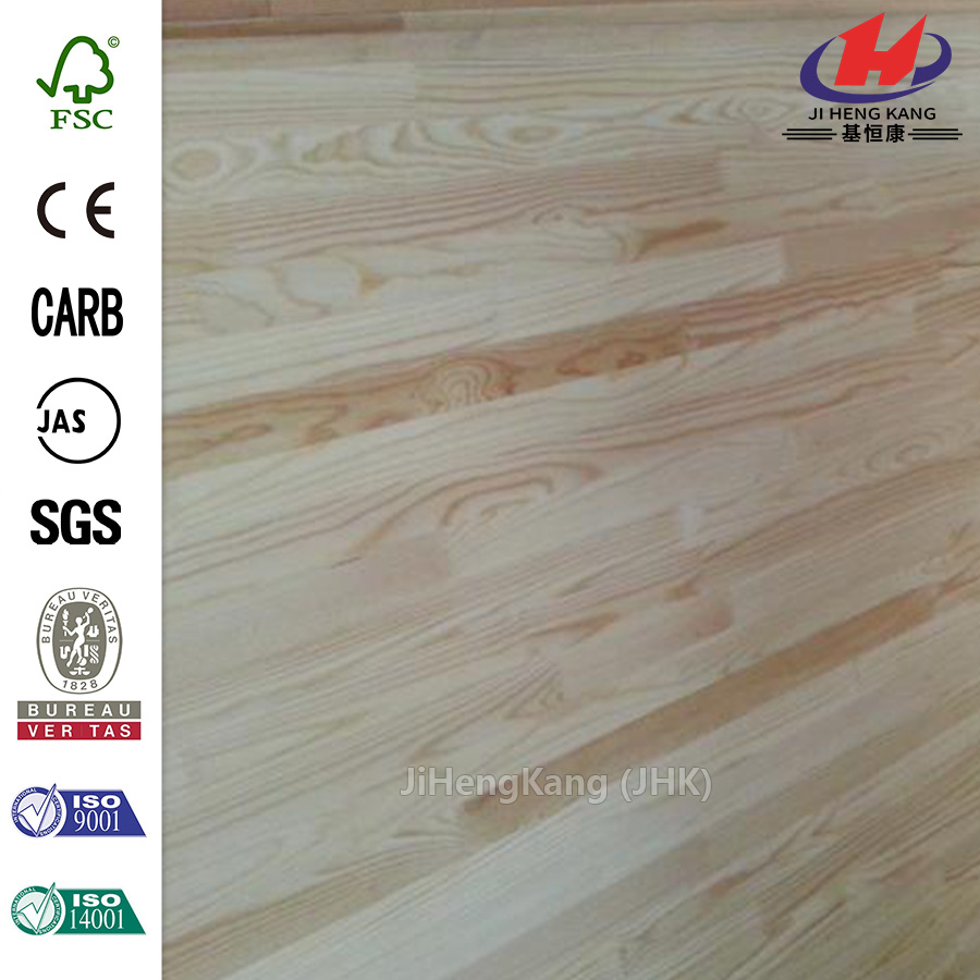 ISO14001 Luxury UVPainting Finger Joint Panel