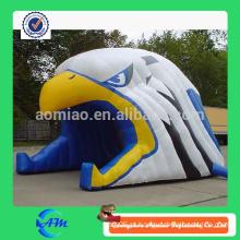 Túnel inflável da cabeça da águia para venda
