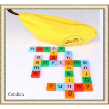 2013 Scrabble Game Banana Toy Outdoor Play (CL-SG-B01)