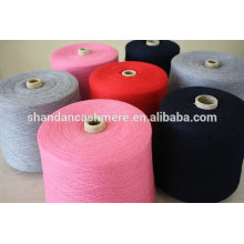 hilo mezclado de lana / cachemira 50% de cachemira 50% hilo de mezcla de lana Nm 26/2 hilo de mongolia interior