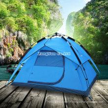 Tentes extérieures automatiques en gros, tentes de camping de 3-4 personnes