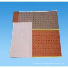 El yeso adhesivo perforado (XT-FL312)