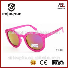2015 China por mayor diseñador personalizado gafas de sol para niños