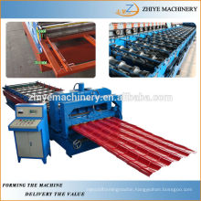 high speed steel metal roofing glazed tile equipment