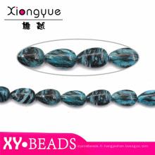 2015 turquoise Drop Semi précieux et pierres précieuses perles