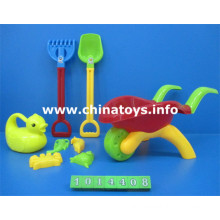 Plastic Beach Car Set Toy. Summer Toy Beach Bucket, Spade (1014408)