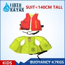 Colete salva-vidas para crianças