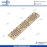Mould Components graphite filled bronze wear plate slide plate