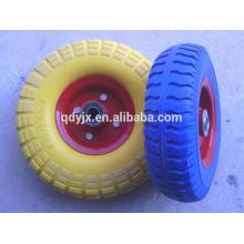 qingdao 200mm buena calidad pu ruedas