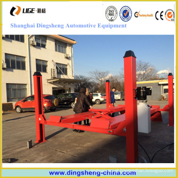 Garagem Machines 4 Cylinder Car Lift