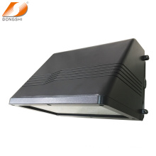 Die-casting aluminum full cut-off LED wall pack housing with glass cover