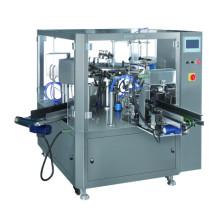 Rotationstyp Vorgefertigte Beutelverpackungsmaschine