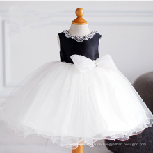 Satin Tüll Sicke Little Girl Dress