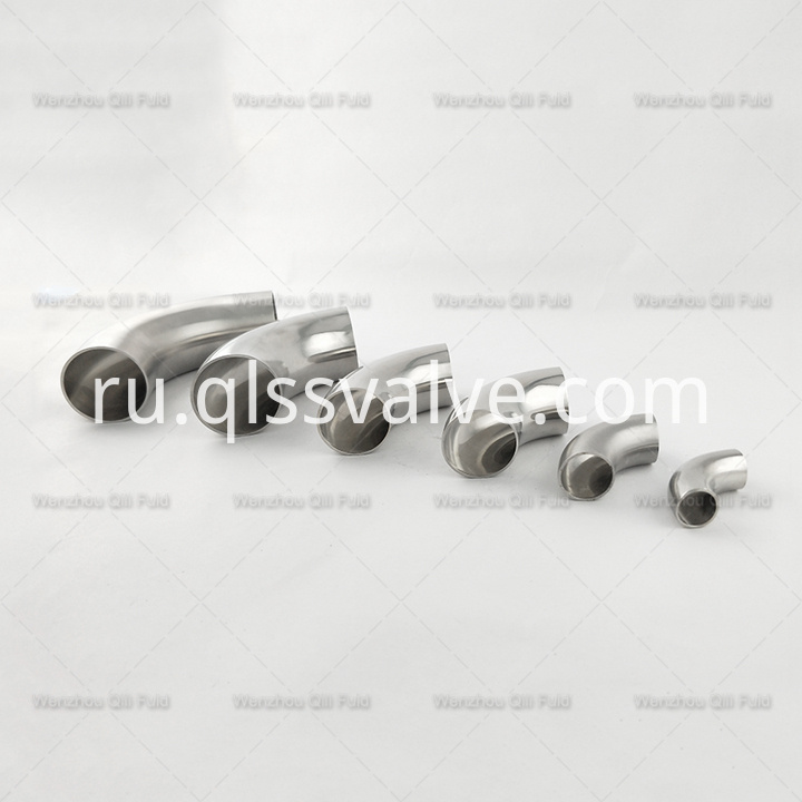 sanitary stainless steel elbow x17