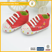 2015 whosale latest design baby shoes hot sale baby canvas shoes in low price