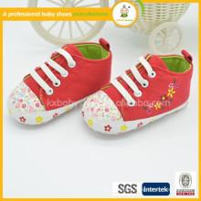 2015 whosale mais recente design bebê sapatos quente venda bebê lona sapatos a baixo preço