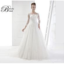 Fournisseurs de la Chine de robe de mariée avec broderie 2016