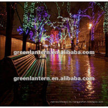 Popular decorativo LED árbol impermeable a prueba de agua DC12v