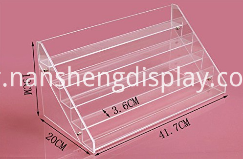 Clear Nail Polish Display Organizer
