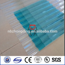 decorative material lexan polycarbonate corrugated sheet