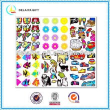 cartoon animals hologram/sticker