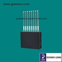 80W GPS-глушитель для глушителя сигнала сотового телефона (GW-J80)