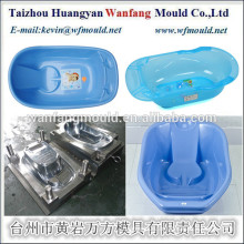 oval plastic transparent baby bath tub product injection mould