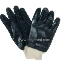 PVC Fishing Potato Peeling Gloves Safety Industrial Work Glove