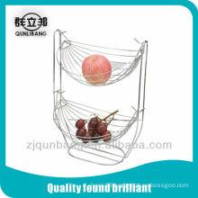 2 layer cradle fruit basket,fruit holder,vegetable basket