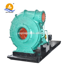 Horizontal solid waste pump