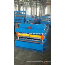 950 Fabricación de máquinas formadoras de tejas para techos