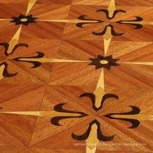 Preços de piso de madeira parquet marrom