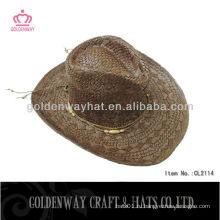Горячая лава соломенная шляпа для дам