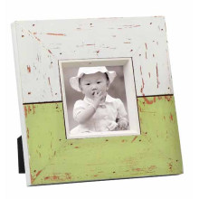 Distressed Solid Wooden Picture Frame for Home Deco