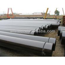 Calendário 80 aço galvanizado preço tubo de aço