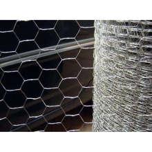 Malla de alambre hexagonal recubierta de PVC