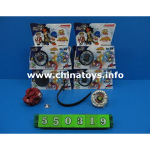 Metal Toy Alloy Musical Flashing Light Top Top Toy (550319)