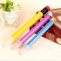 Crayon géant en bois avec gomme
