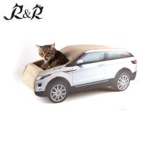 Vorbildliches Katzennest des Luxus, Hummer-Fahrzeugkatzenhaus, die neuen Formkatzenreste. CT4046