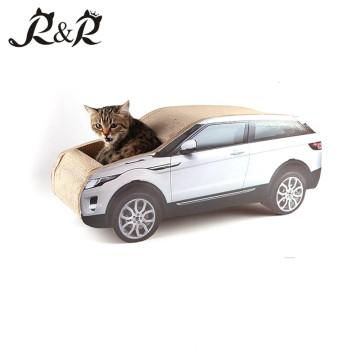 Nido de gatos modelo de lujo, casa de gato Hummer vehículos, el gato de forma nueva descansa. CT4046