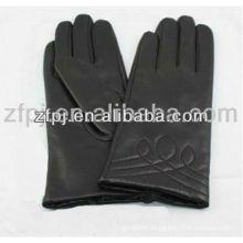 Señoras moda al por mayor xxl guantes de cuero