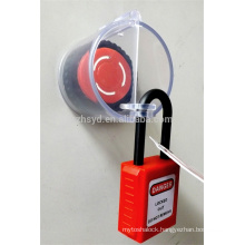Approve CE length 1.8m and cable diameter 5mm ABS cheap wall switch lock