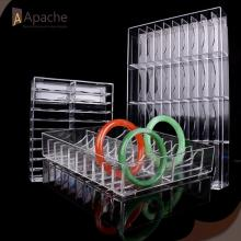 Acrylic Bracelet Grids Display Box